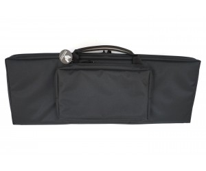 Кейс Vektor из капрона черный с крепл. Molle, 2 карманами и отдел. под магазины (А-8-1 ч)