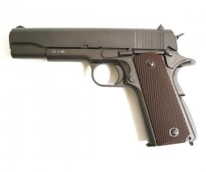 Страйкбольный пистолет KWC Colt M1911 A1 CO₂ GBB