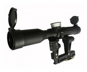 Оптический прицел ПОСП 8х42 М6 ВДС PRO (Вепрь/Сайга, Mil-Dot, диоптр. настройка)