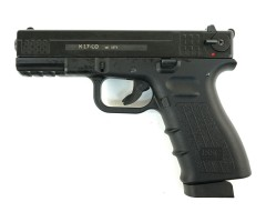 Охолощенный СХП пистолет K17-СО Kurs (Glock 17) 10ТК