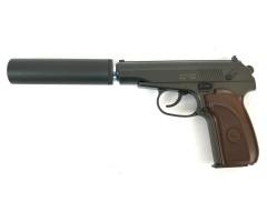 Страйкбольный пистолет Stalker SAPS Spring (ПМ, с глушителем)
