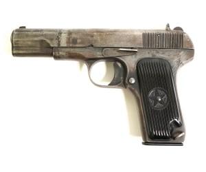 Охолощенный СХП пистолет ТТ 33-О (Токарева) 7,62x25 Blank / 2-я кат.