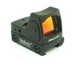 Коллиматорный прицел Veber Black Fox DOT 122 RD Weaver