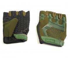 Перчатки тактические Adventure укороченные прорезиненные (камуфляж)
