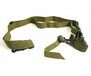 Ремень оружейный Стикхант охотничий 3-точечный (хаки)