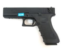 Страйкбольный пистолет WE Glock-18 Gen.3 Black (WE-G002A-BK)