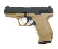 Страйкбольный пистолет WE Walther P99 GBB Tan (WE-PX001-TAN)