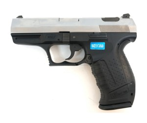 Страйкбольный пистолет WE Walther P99 GBB Silver (WE-PX001-SV)