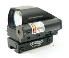 Коллиматорный прицел Walther 103 на «ласточкин хвост», с ЛЦУ