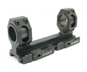 Кронштейн 25/30 мм быстросъемный монолит на Weaver (BH-MS23)