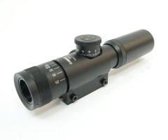 Оптический прицел Kandar 4x21 AO Mini, гравир. сетка
