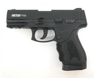 Охолощенный СХП пистолет Retay PT24 (Taurus) 9mm P.A.K