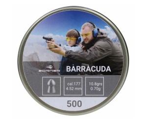 Пули Borner Barracuda 4,5 мм, 0,70 грамм, 500 штук