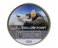 Пули Borner Hollow Point 4,5 мм, 0,58 грамм, 500 штук