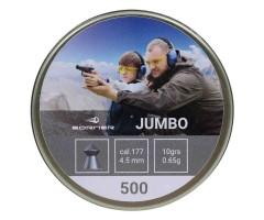 Пули Borner Jumbo 4,5 мм, 0,65 грамм, 500 штук