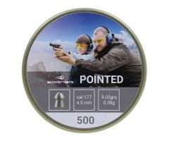 Пули Borner Pointed 4,5 мм, 0,58 грамм, 500 штук