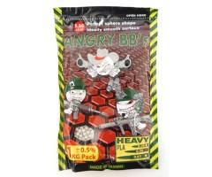 Шары для страйкбола Angry BB's 0,40 г, 2500 штук (1 кг, белые)