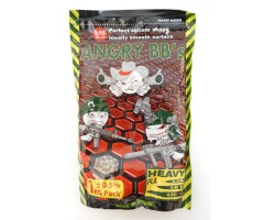 Шары для страйкбола Angry BB's 0,43 г, 2300 штук (1 кг, белые)