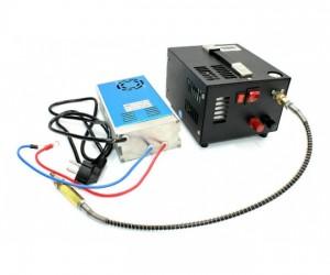 Компрессор компактный высокого давления PCP-AC + адаптер 220/12 В