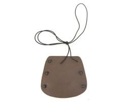 Крага Archezon 16 см (кожа, резинка) AMG-443