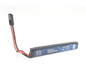 Аккумулятор BlueMAX Li-Po 7.4V 1300mah 20C, 128x21x13,5 мм (стик)