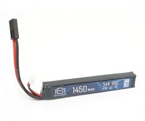 Аккумулятор BlueMAX Li-Po 7.4V 1450mah 30C, 115x16,5x15 мм (стик)
