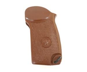 Пластиковая рукоятка для ПМ, МР-371 (коричневая)
