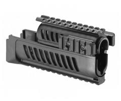Полимерное цевье для Fab Defense для АК47/74/Сайга (4 планки, черный)