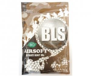 Шары для страйкбола BLS 0,40 г, 1000 штук (белые, Bio) 1BA-PLA40