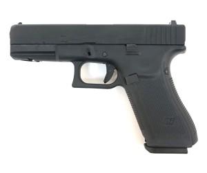 Страйкбольный пистолет WE Glock-17 Gen.5, сменные накладки (WE-G001VB-BK)