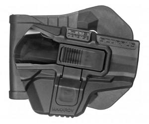 Кобура с кнопкой Fab Defense M24 Paddle Makarov R для ПМ (черная)