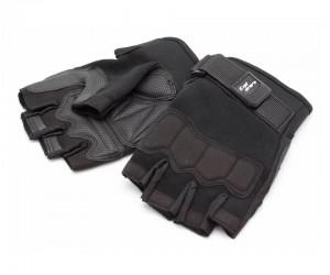 Перчатки тактические Стикхант Explorer укороченные (черные)