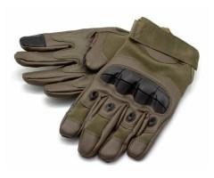 Перчатки тактические Стикхант Major прорезин. кастет I-Touch (хаки)