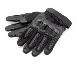 Перчатки тактические Стикхант Marine прорезин. кастет I-Touch (черные)