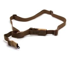 Ремень оружейный тактический «Долг-М2» (одноточка) койот
