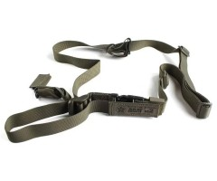 Ремень оружейный тактический «Долг-М2» (1-2-3 универсальный) зеленый