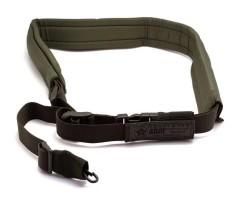 Ремень оружейный тактический «Долг-М3» (одноточка) зеленый