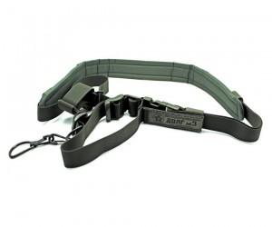 Ремень оружейный охотничий «Долг-М3» (1-2-3 точечный) зеленый