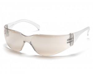 Очки стрелковые Pyramex Intruder S4180S, зеркально-серые линзы