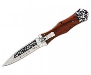 Нож полуавтоматический «Чёткий расклад» A-163 Вавилон
