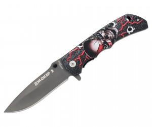 Нож полуавтоматический «Чёткий расклад» A-169 Джокер-2