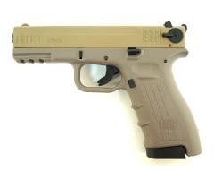 Охолощенный СХП пистолет K17-СО Kurs (Glock 17) 10ТК, песочный