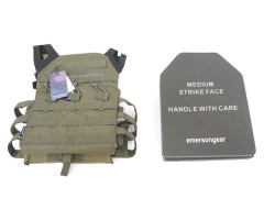 Разгрузочный жилет EmersonGear Blue Label Jumper Plate Carrier RG