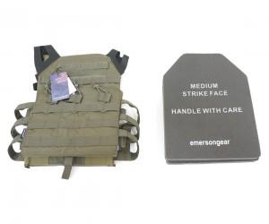 Разгрузочный жилет EmersonGear Blue Label Jumper Plate Carrier RG