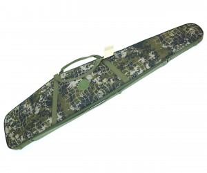 Чехол-кейс 125 см, с оптикой «Охота» (поролон, эконом)