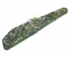 Чехол-кейс 130 см, с оптикой «Охота» (поролон, эконом)