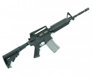 Страйкбольный автомат VFC Colt M4A1 STD Black