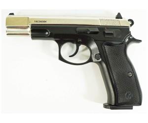 Охолощенный СХП пистолет Z75-СО Kurs (CZ 75) 10ТК, хром/черный