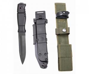 Нож «Кампо» (гражданская версия «Ратник», пластик. ножны)