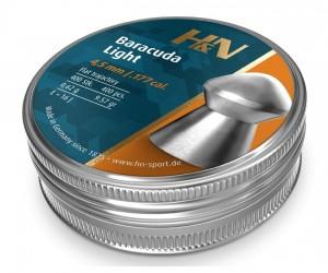 Пули H&N Baracuda Light 4,5 мм, 0,62 грамм, 400 штук